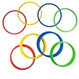 Juvale 24-Pack Speed and Agility Training Rings