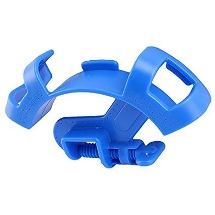 eDealMax acuario plástico del tanque de pescados de filtración de agua tubo de soporte del tubo