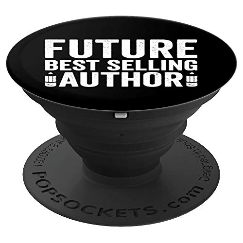 Future Best Selling Authors Writer - PopSockets Grip and Stand for Phones and Tablets