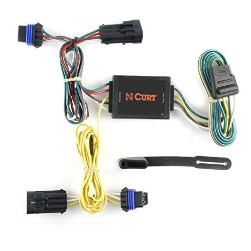 CURT 56036 Vehicle-Side Custom 4-Pin Trailer Wiring Harness for Select Saturn Ion