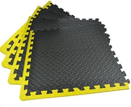 Interlocking Eva Soft Foam Floor Mats Gym Kids Exercise Play Mat Office Garage F