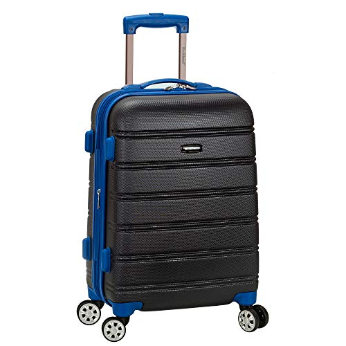 Rockland hardside abs Carry-on Luggage, Grey