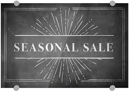 CGSignLab Seasonal Sale Nostalgia Burst Premium Acrylic Sign 5-Pack 24x6