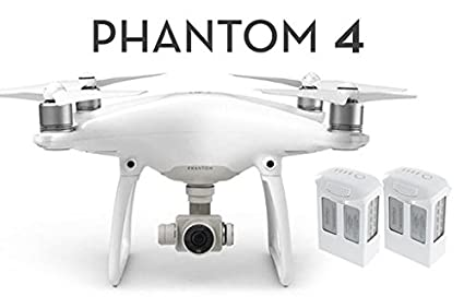 DJI Phantom 4 Pro RC Quadcopter with One extra battery