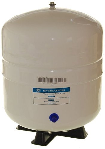 iSpring T32M 4 Gallon Residential Pre-Pressurized Water Storage Tank for Reverse Osmosis (RO) Systems by iSpring