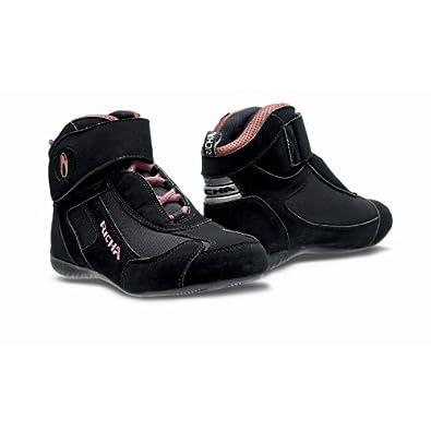 Richa , Chaussures moto femme LADY KART , Couleur  Gris/Rose