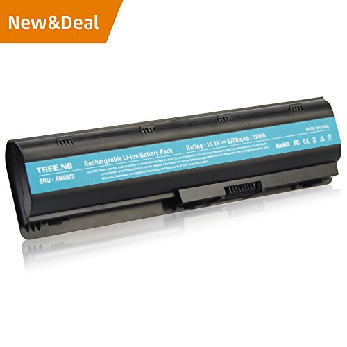 New Battery for Hp Spare 593553-001 593554-001 MU06 WD548AA, CQ32 CQ42 CQ56 CQ57 CQ62 CQ72, HP G4 G6 G7 G32 G42 G62 G72, Envy 17, Pavilion DM4 DV3-4000 DV5-2000 DV6-3000 DV7-4000