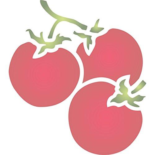 - Tomato Stencil - (size 4.5