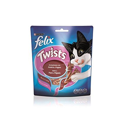 FELIX Giros y 50gr de hÍgado de pato - Golosinas de gatos