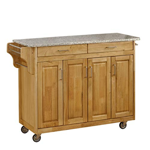 kitchen carts with granite top - 8
