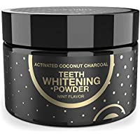 Fairywill Activated Charcoal Teeth Whitening Powder Peppermint Flavor