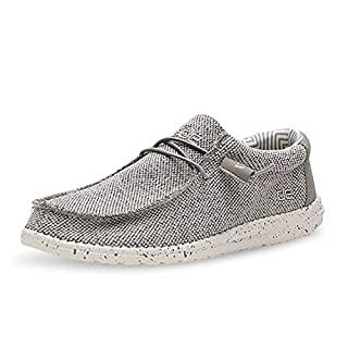 Hey Dude Men's Wally Sox Ash, Size 13