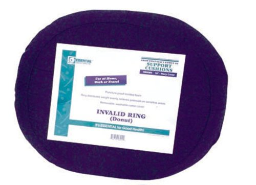 Essential Medical Supply Molded Donut, 18 Inch Navy