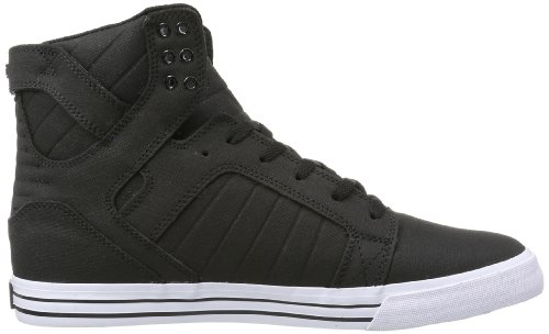 Supra Mens Skytop Fashion Sneaker Black White White 3fWKix6RQp
