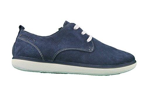 IGI&CO 1124200 Sneakers Scarpe Uomo in Pelle Blu Casual