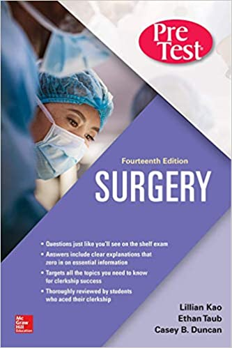 Surgery PreTest Self-Assessment and Review, Fourteenth Edition - Original PDF