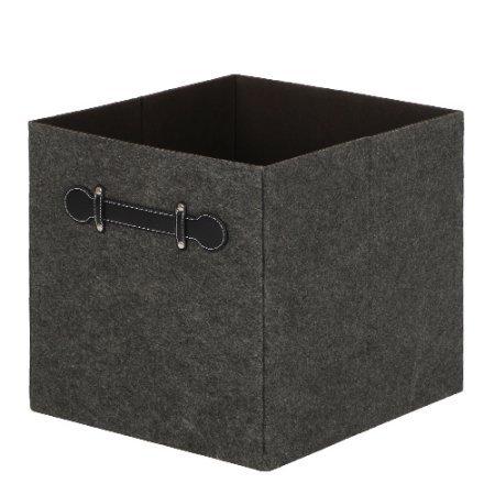 Better Homes & Gardens Storage Bin-Gray