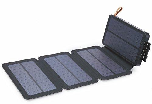 enligten Cargador Solar 10000 Mah Impermeable Energía Solar ...
