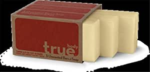 True Body Bar Soap,Body,Unscented 3/4.5 oz