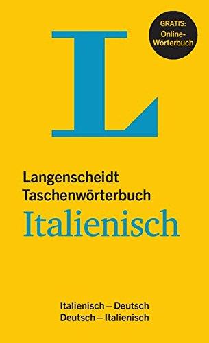 Langenscheidt Taschenwörterbuch Italienisch   Buch Mit Online Anbindung  Italienisch Deutsch Deutsch Italienisch  Langenscheidt Taschenwörterbücher