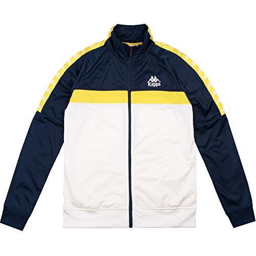 5e197cd2572ac Kappa Men Track Jacket Dabbs, Size:XL, Color:Navy