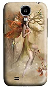 Fairy Forest Meadow Custom Samsung Galaxy S4/I9500 Case Cover Polycarbonate 3D