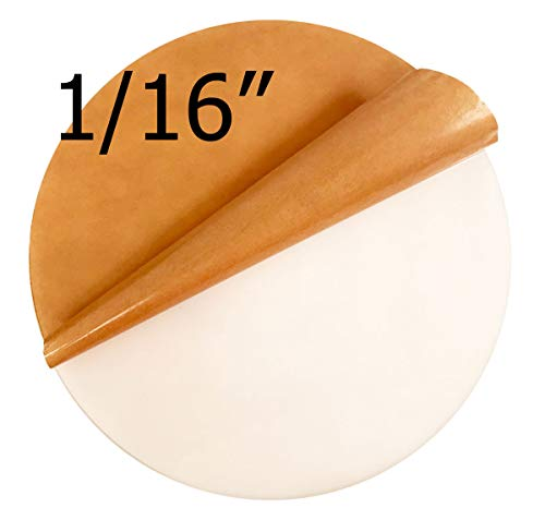 Acrylicblank Glossy White Acrylic Circle Disc (12 Inch Diameter, 1/16 Inch Thick White) Click for More Colors and Sizes