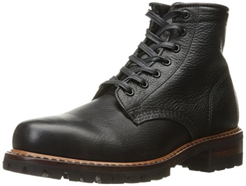 FRYE Men's Arkansas Logger Mid Combat Boot, Black, 8.5 D - Men Arkansas
