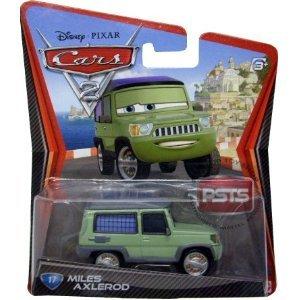 Disney / Pixar CARS 2 Movie 155 Die Cast Car #17 Miles Axlerod by Mattel (Cars 2 Grem)