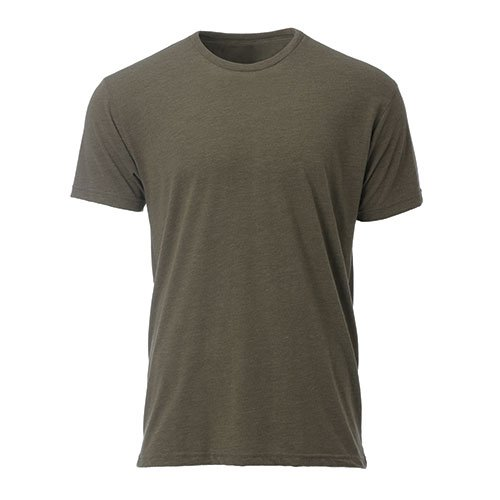 582558d7b35ef Ouray Sportswear Tri Blend Tee, Military Green, X-Large