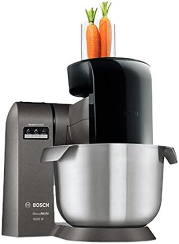 Bosch MUMX50GXDE - Robot de cocina (5,4 L, Acero inoxidable, 1,1 m, 5 discos, 3,5 kg, Acero inoxidable): Amazon.es: Hogar