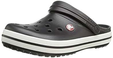 crocs Unisex Crocband Clog,Black,Men's 4 M US/ Women's 6 M US