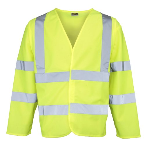 - RTY High Visibility High visibility motorway coat - Fluorescent Yellow - 2XL