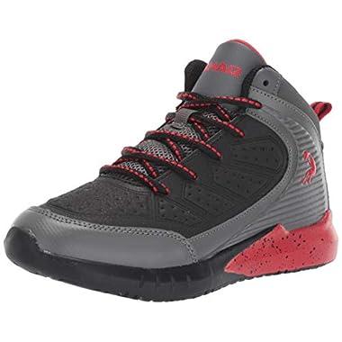 2f1d89883010 Shaq Kids  Precision Sneaker Black Red 13 ...