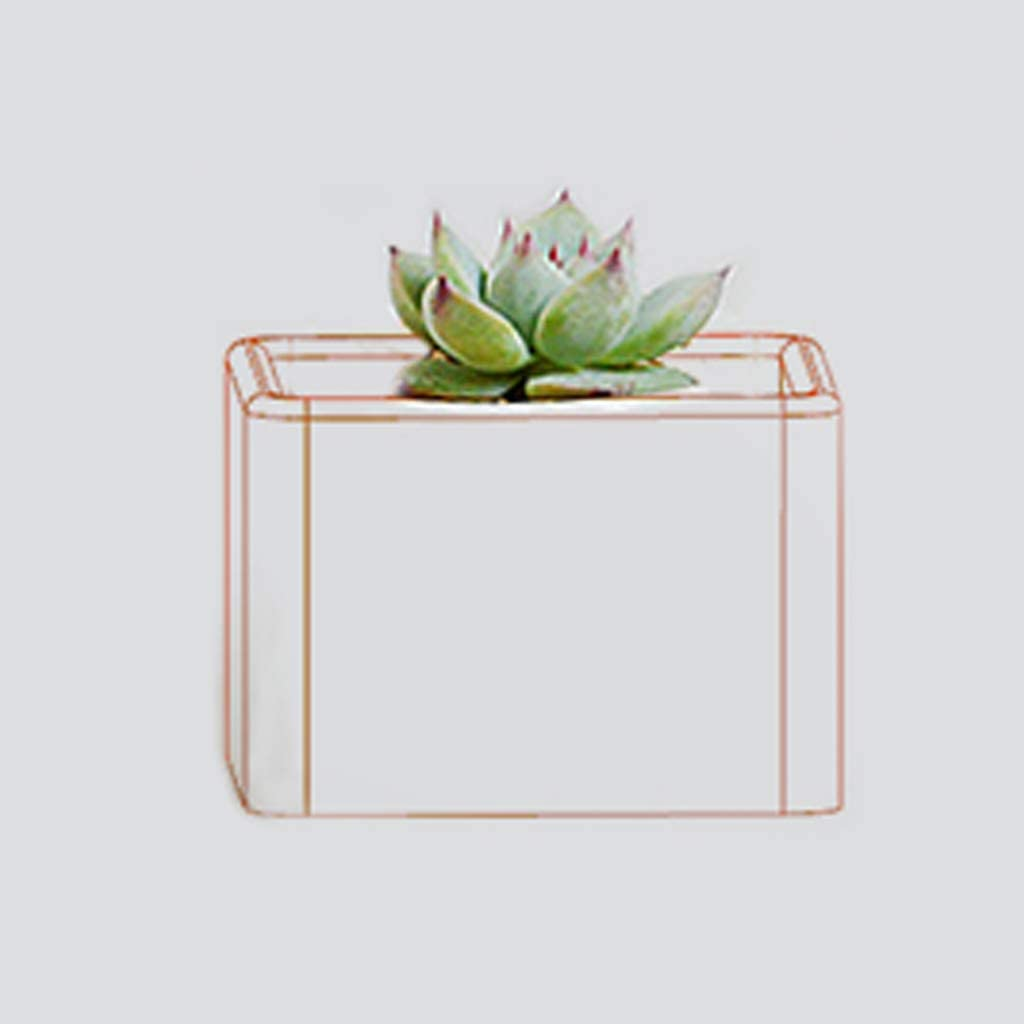 bluederst Cube Flower Pot DIY Silicone Molds for Candle Holder Making Succulent Plants Planter Pot Mould Concrete Moulds
