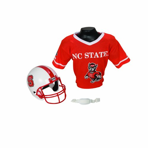 Franklin Sports NCAA North Carolina State Wolfpack Helmet and Jersey -