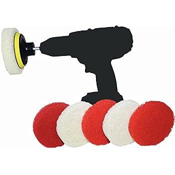 Amazon Com Spin Scrub Drill Brush Scrub Pad With Drill