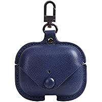 Leather Skin Case for Apple AirPods Pro – Blue