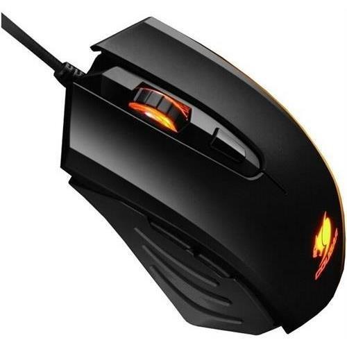 Cougar 200M Black MOC200B 2000 DPI Performance Optical Gaming Mouse (COUGARMOC200B )