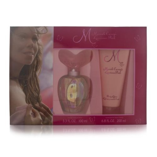 Mariah Carey M Luscious Pink Women Giftset (Eau De Parfum Spray, Moisturizing Body Lotion) -