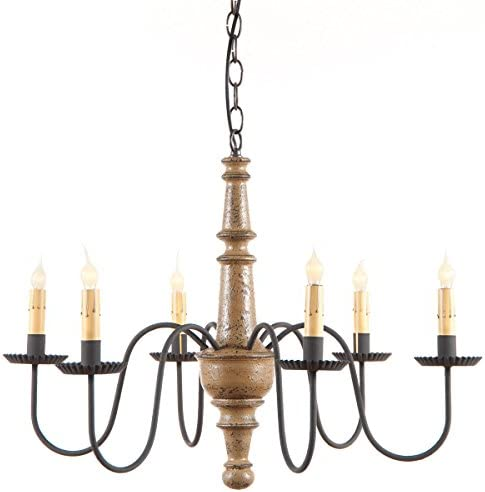 Harrison Chandelier in Pearwood