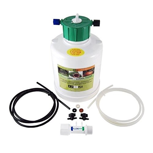 EZ Flo 1010-HB Garden Hose Fertilizer Injector w/Backflow Preventer - 1 Gallon