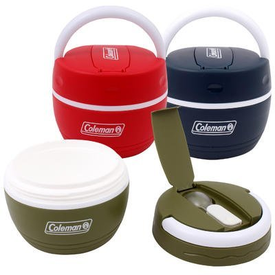 Coleman 16.9 oz Insulated Plastic Lunch Box with Spoon - Color May - 16.9 Thermos Ounce