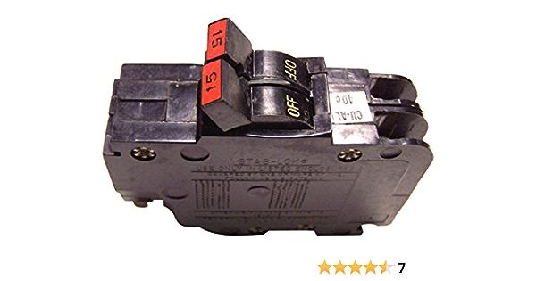 FEDERAL PACIFIC NA215 2P15 FPE Circuit Breaker 2 Pole 15 Amp