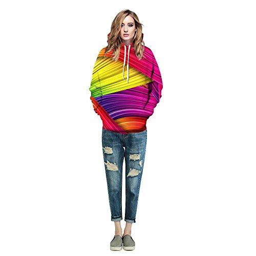 COCO Mehrfarbig clothing c Pull Taille Cache unique ur Femme Multicolore rrBg6p