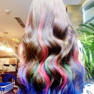 Elera Washable Temporary Hair Color Chalk Hair Color Dye Comb Brush Gel Rainbow for Kids (multicolor) by ELERA (Image #7)