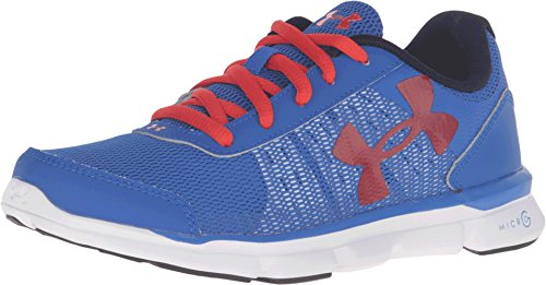 Under Armour Kids Micro G Speed Swift, Ultra Blue/Red, 5.5 Big Kid M