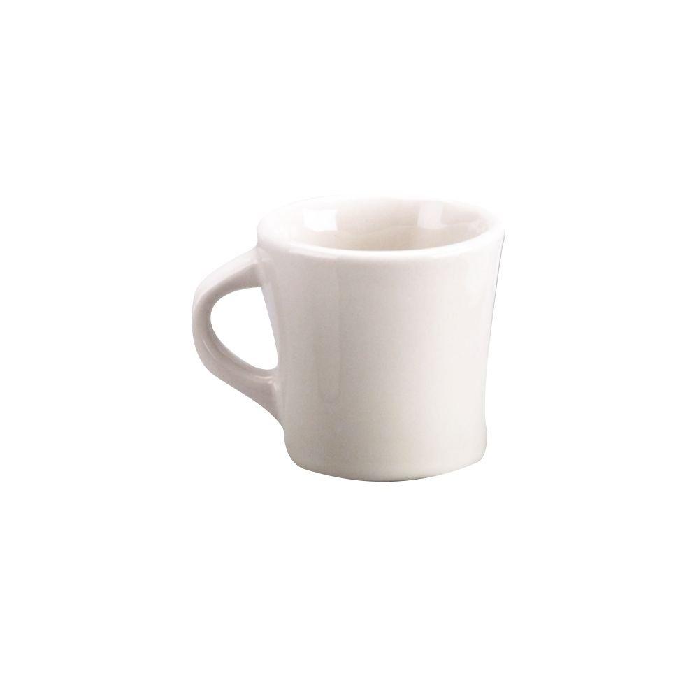 Diversified Ceramics DC103-W White 10 Oz. Tucson Coffee Mug - 24 / CS