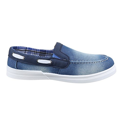 Ital-Design - Zapatos Hombre Azul - azul claro