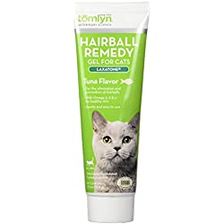 Tomlyn Hairball Remedy Gel for Cats, Tuna Flavor, (Laxatone) 2.5 oz